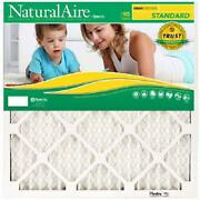 Flanders Naturalaire Merv 8 20 X 20 X 1 Pleated Furnace Air Filters, Case Of 12