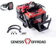 Genesis Offroad Dual Battery 200 Amp Isolator G Screen For 07-11 Jeep Wrangler