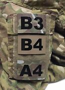 Custom Operator Unit Id Number Patch Ir Infrared Hook Military Multicam Tan