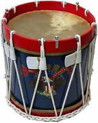 Civil War Drum Sdc American Eagle Colonial Marching Medieval 14 Snare