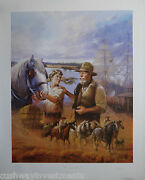 The Teamsters By Dorothy Gauvin 57/980 640mm X 790mm