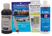 Above Ground And In Ground Swimming Pool And Spa Leak Repair Kit