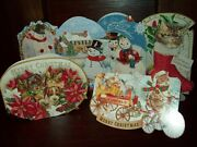 New Boxed Punch Christmas Note Cards Blank Inside 24 Ct Pets And Snowmen Cat Dog