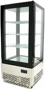 Omcan Rs-cn-0078 17 X 15 X 39h Countertop Glass Refrigerated Display Case New