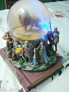The Chronicles Of Narnia Snow Globe By Disney Musical Box Lights And Movement[8