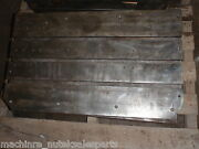30 X 18 X 4 Steel Layout Welding Table T Slot Cast Iron 3 Slot_drill Holes
