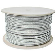 3/4 Inch X 600 Ft White Double Braid Nylon Rope Spool For Boats