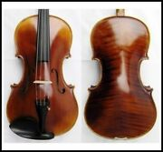 Master Series 16 1/2 Viola Labeled Sandner Germany Outfit - Oblong Case And Bow