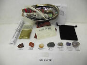 Sage Chakra Smudge Kit Plus Lavender Gift Set With 7 Crystals And Full Directions