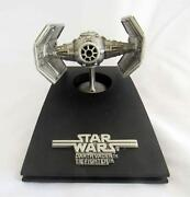 Vintage Star Wars Rawcliffe Fine Pewter Tie Fighter Rf950 - Le 117 Of 15000