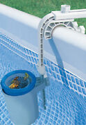 Skimbi Above Ground Swimming Pool Surface Skimmer For Intex And Soft-sided Pools