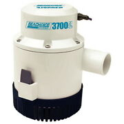 3700 Gph Electric Submersible Bilge Pump For Boats With 1-1/2 Hose Outlet