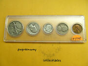 1946 Silver Birth Year Set 5 Coins Other Years Also