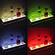 Sold Out Liquor Bottle Display Stand Glowing Bar Step Back 1 Step