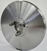 """10-1/2"""" Lathe Chuck Adapter Plate D1-3 Spindle Mount Taper Plain Back Usa"""
