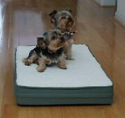 Petbed4less Waterproof One Piece 100 Orthopedic Memory Foam Cat Bed Dog Bed