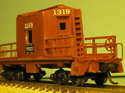 Frisco 1319 Transfer Caboose N-scale Custom Built And Painted