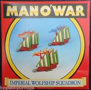 1993 Man Oand039 War Imperial Wolfship Squadron Games Workshop Mow Ship Empire Galley