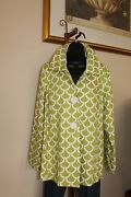 3 Sisters Jacket 6057 3s191 Xl Billow Womenand039s Swing A-line Coat Usa