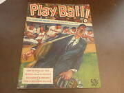 1953 Cleveland Indians Baseball Yearbook Ex