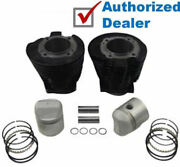 Replacement Cylinder Piston Ring 3 Bore 900cc Kit Harley Ironhead Sportster Xlh