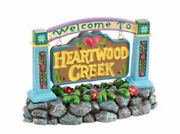 Jim Shore - Heartwood Creek - Village Sign - Welcome To Heartwood Creek