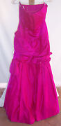 Nwt Vintage Scaasi Boutique Pink Ball Gown Formal Dress Misses Size 8