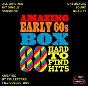 Various Artists - Amazing Early 60s Box 88 Hard-to-find Hits / Various [new Cd]