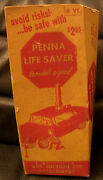 Penna Life Saver Trouble Signal, Vintage 1957 Early Plastic Works