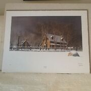 Bob Timberlakeand039s Special 25th Anniversary First Light Print