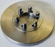 """10-1/2"""" Lathe Chuck Adapter Plate D1-5 Spindle Mount Taper 1-3/16"""" Thickness Usa"""