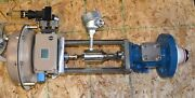 2 Samson Tank Valves 3x 2andrdquo Glass Steel Flanged Bottom Unused Sold As A Lot