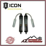 Icon 4.5- 6.5 Lift Coil-over Shock Kit For 2005-2016 Ford F250 F350 Super Duty