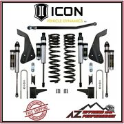 Icon Stage 3 4.5 Suspension System For 08- 10 Ford Super Duty F250 And F350