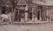 Antique Chariton Ia Hiester Studio Trade Sign Kling Bootmaker Stereoview Photo