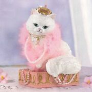Perfectly Graceful Cat For The Cure Figurine Bradford Exchange Bca Cancer Awaren
