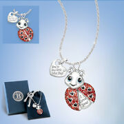 Granddaughter Your As Cute As A Lady Bug Necklace Pendant Bradford Exchange