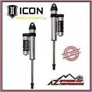 Icon 2.5 Series Pbr Front Shocks 8-10 Lift For 1999-2004 Ford F250 F350
