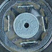 19andnbsp 1 France 10 Centimes Km897 - Very Rare - Missing Digit In Date