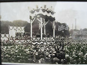 Antique 1924 President Calvin Coolidge Cardinal Oand039connell American Flag Dc Photo
