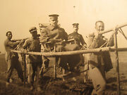 Antique China Peking 1912 Army General On Litter Taxi Usmc Great Wall Photos