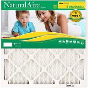 Case Of 12-flanders 16x25x1 Inch Naturalaire Merv 8 Pleated 90-day Air Filters