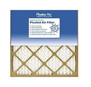 Case Of 12 - Flanders 16x16x1 Inch Merv 6 Pleated Air Filters Free Ship