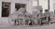 Vintage Grants Nm Us Mail Horse Cart Carriage Post Office Conoco Rt 66 Photo