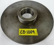 """9-1/4"""" Lathe Chuck Adapter Plate 2-1/4"""" – 8 Spindle Thread 1/2"""" Thickness"""