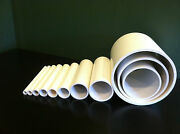Any Size Diameter Pvc Pipe Sch. 40 Or 80 1/4- 24 Inch