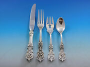 Francis I Reed And Barton Sterling Silver Flatware Service For 8 Set 32 Pieces