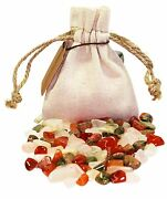Fertility Power Pouch Healing Crystals Stones Set Tumbled Natural Gemstones
