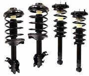 Full Set 4 Complete Struts With Springs Mounts Fits 2002-2003 Nissan Maxima