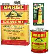 Barge Ap All Purpose Contact Cement Rubber Leather Glue Or Thinner Shoe Repair